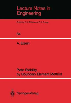 Plate Stability by Boundary Element Method by Abbas El-Zein