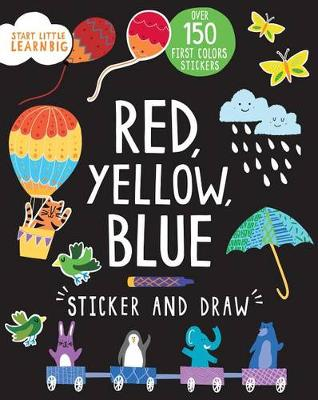 Red, Yellow, Blue Sticker and Draw by Susan Fairbrother