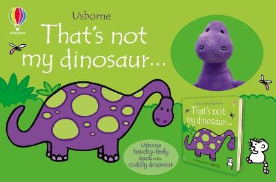 That's not my dinosaur Book and Toy by Fiona Watt