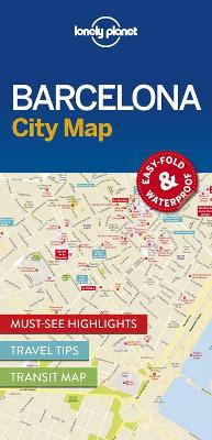 Lonely Planet Barcelona City Map by Lonely Planet