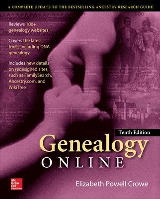 Genealogy Online, Tenth Edition by Elizabeth Crowe