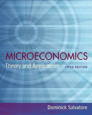 Microeconomics by Dominick Salvatore