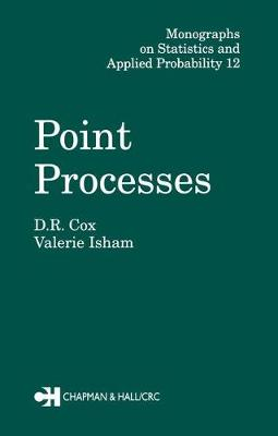Point Processes by D. R. Cox