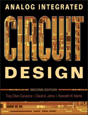 Analog Integrated Circuit Design 2E by Tony Chan Carusone