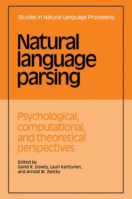 Natural Language Parsing by David R. Dowty