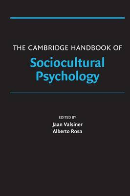 Cambridge Handbook of Sociocultural Psychology book