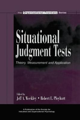 Situational Judgment Tests book