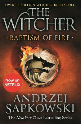 Baptism of Fire: Witcher 3 - Now a major Netflix show book