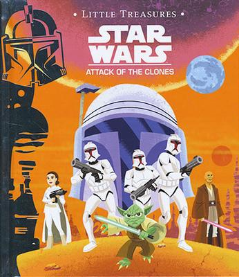 Star Wars: Attack of the Clone - Little Treasures Storybook by Christopher Nicholas
