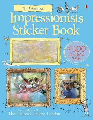 Impressionists Sticker Book by Sarah Courtauld