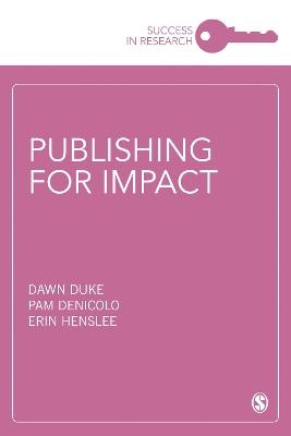 Publishing for Impact by Dawn Duke