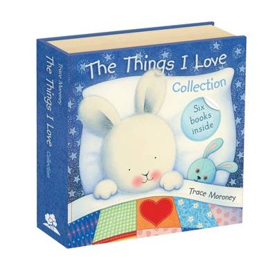 The Things I Love Collection - Secret Slipcase with Books by Trace Moroney