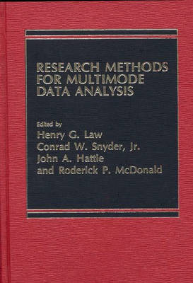 Research Methods for Multi-Mode Data Analysis by John Hattie