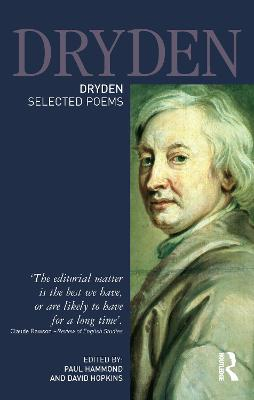 Dryden:Selected Poems by Paul Hammond