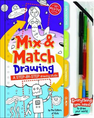 Klutz: Mix and Match Drawing Single by Editors of Klutz