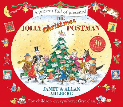 Jolly Christmas Postman by Allan Ahlberg