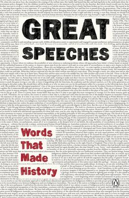 Great Speeches: Words That Made History by Anon