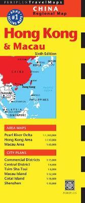 Hong Kong and Macau Travel Map by Editors of Periplus