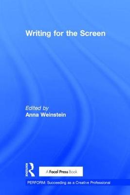 Writing for the Screen book