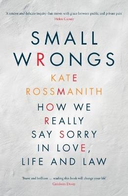 Small Wrongs book