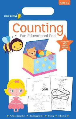 Little Genius Small Pad Counting book