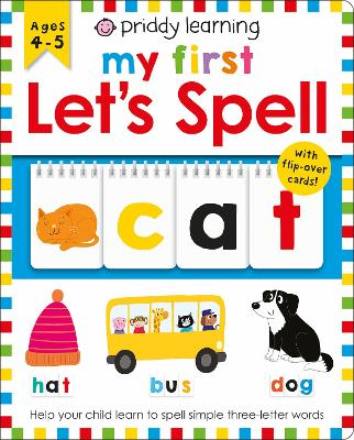 My First Let's Spell book