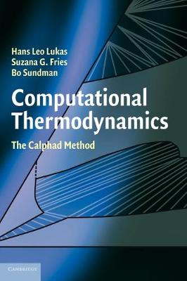 Computational Thermodynamics book