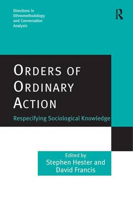 Orders of Ordinary Action by Stephen Hester