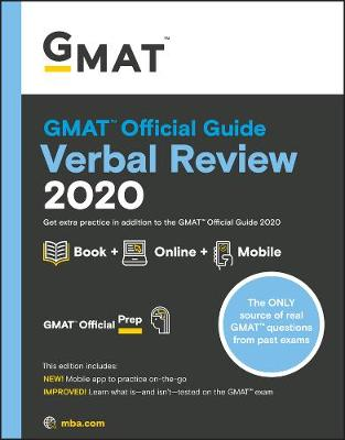 GMAT Official Guide 2020 Verbal Review: Book + Online Question Bank by Graduate Management Admission Council (GMAC)