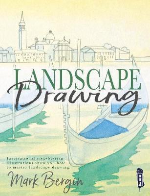 Landscape Drawing by Mark Bergin