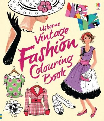 Vintage Fashion Colouring Book by Ruth Brocklehurst
