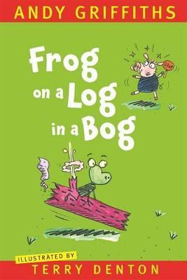 Frog on a Log in a Bog book