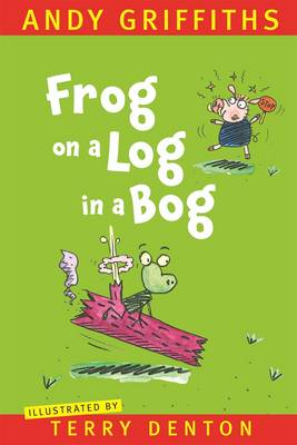 Frog on a Log in a Bog book