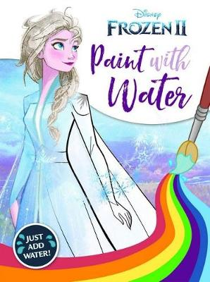 Frozen 2: Paint with Water book