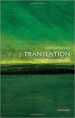 Translation: A Very Short Introduction book