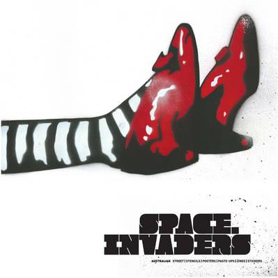 Space Invaders by Jaklyn Babington