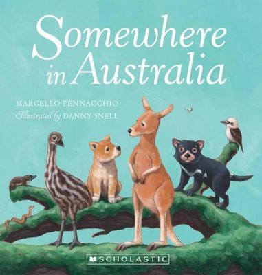 SOMEWHERE IN AUSTRALIA BRD BK book