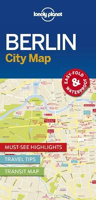 Lonely Planet Berlin City Map by Lonely Planet