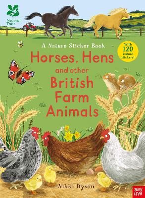 National Trust: Horses, Hens and Other British Farm Animals book