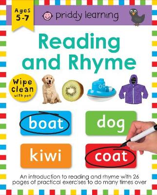 Reading and Rhyme by Roger Priddy