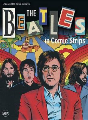 Beatles in Comic Strips book
