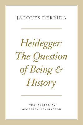 Heidegger by Jacques Derrida