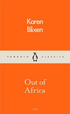 Out of Africa book