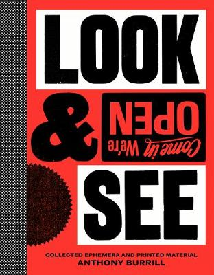 Anthony Burrill: Look & See book