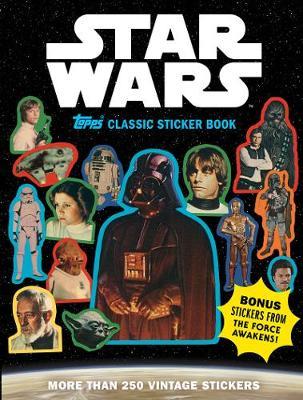 Star Wars Topps Classic Sticker Book book