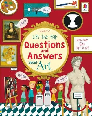 Lift the Flap Questions & Answers About Art by Katie Daynes