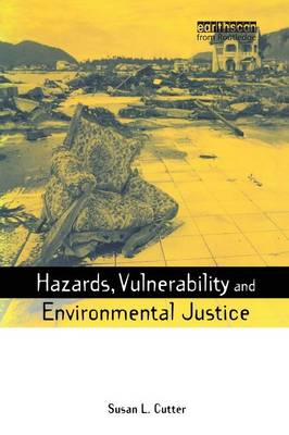Hazards Vulnerability and Environmental Justice book