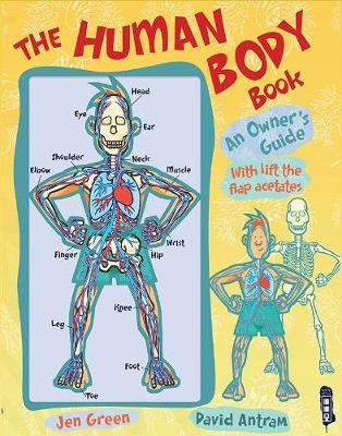 The Human Body Book by Dr Jen Green