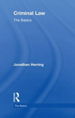 Criminal Law: The Basics by Jonathan Herring