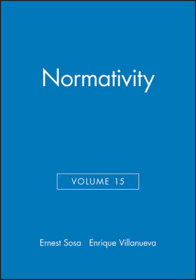 Normativity by Ernest Sosa